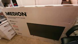 55 inch Medion smart UHD 4k TV - New & Sealed