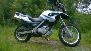 2004 BMW GS650 adventure bike