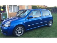2004 53 plate Clio 172 Cup Sport