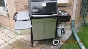 WEBER GAS BBQ - PROPANE - EXCELLENT CONDITION! -NO RAIN OR SNOW!