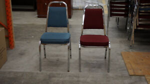USED VISITOR CHAIRS