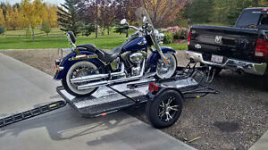 Going South this winter? 2007 Softail and Marlon MCTD trailer