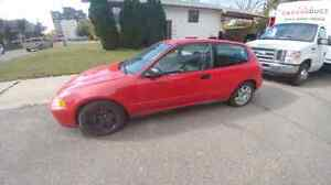 1995 honda civic cx NO TRADES $1000 firm!