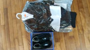 Neufs!! Ensemble Tuxedo pour garçon 18m avec souliers