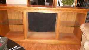 Solid wood T.V. Stand/credenza