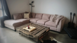 Super Comfy Palliser Sectional Couch - SOLD PPU