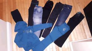 Girls pants size 7-8