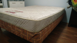 Double Bed & Mattress (Awaiting Pickup)