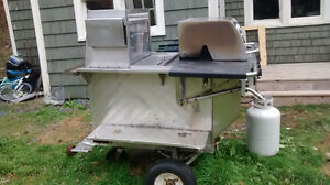 Hotdog cart  for sale 1300 as is