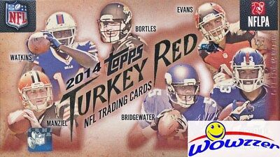 2014 Topps Turkey Red Football Factory Sealed Box w/ROOKIE AUTOGRAPH CARD !