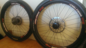 Roues downhill/freeride pour velo