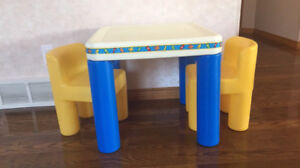 Little Tykes table and chairs