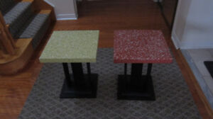 Small  Tables - Set of 2