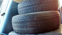 2 pneus 14 pouces