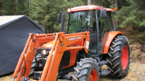 Kubota M95S with M940 loader.  4WD, 95HP, 605 Hours