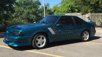 New Price 1993 Mustang 5.0 V8 with Saleen kit.