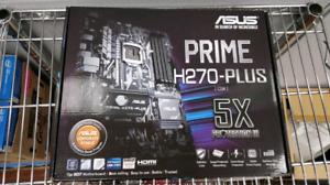 Asus Prime H270 PLUS CSM Socket 1151 ATX Motherboard BRAND NEW
