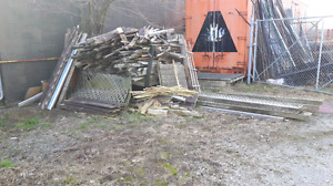 FREE Wood Fence Boards Mostly Bonfire