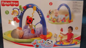 Baby gym from Fisherprice Miracles & Milestones