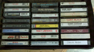 24 Country Music Cassette Tapes