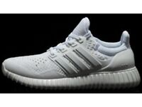 Adidas yeezy's mens size 9 honest seller, top feedback, satisfaction guarantee on all trainers.