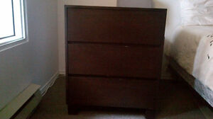 Commode+2 tables chevet / Drawer chest+2 nightstand
