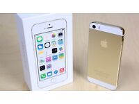 Like new factory unlocked iPhone 5s 16gb Gold