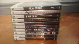 Xbox 360 Games for Sale. $10 Each. $60 for all Edmonton Edmonton Area image 2
