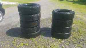 275/60/20 TIRES 2 SETS WILL SELL 9 TIRES FOR 540 !!!!!!!!!