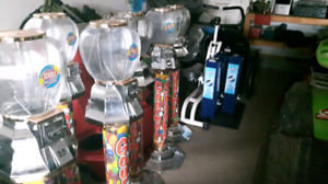 Excel and Gumball vending machines for sale