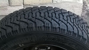 """Winter Tires with Steel Rims 185/65R15"""""""