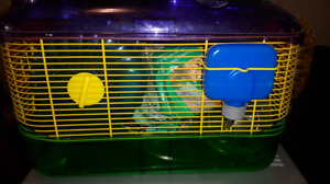 Hampster cage with extras! $40 OBO