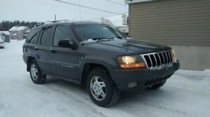 2002 Jeep Cherokee Laredo VUS / 144000 km