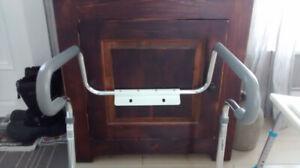 appui sécuritaire pour toilette( cadre)