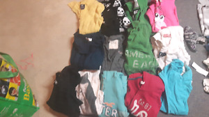 Tons of pre teen clothing