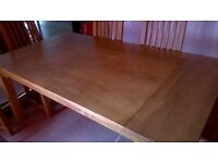 Solid Oak Dining Table For Sale £350 **Excellent Condition**