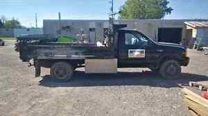 Ford F450 with Dump Box
