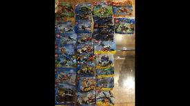 27 Lego mini figures