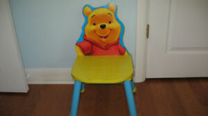 WINNIE THE POOH - CHILD 'S CHAIR