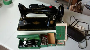 machine a coudre antique 1951