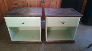 2 Refinished End Tables