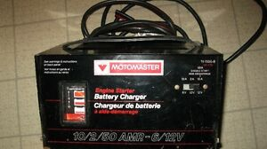 chargeur a batterie motomaster