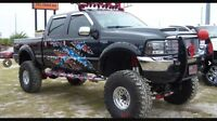 Aftermarket rims and truck accessories