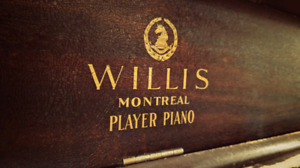 Vintage Upright Piano - Willis