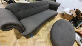 Sofa, Armchair and Foot stall