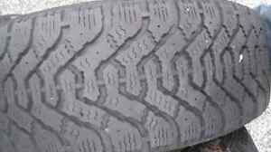 4 winter tires 205-55-16 and rims.