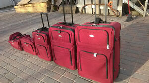 5 Piece Luggage Set CAMBRIDGE by TRAVELWAY