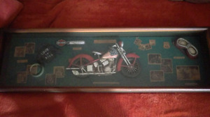 ManCave item! Shadow box $48 OBO