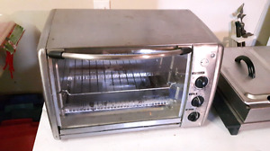 GE Stainless Toaster Oven