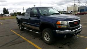 2004 gmc 2500hd diesel